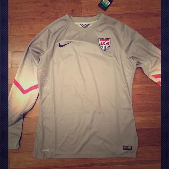 d0244b2b Nike Shirts   Usa Soccer Long Sleeve Goalie Jersey   Poshmark
